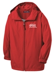 Sport-Tek® - Hooded Raglan Jacket