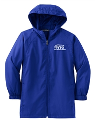 Sport-Tek® - Youth Hooded Raglan Jacket